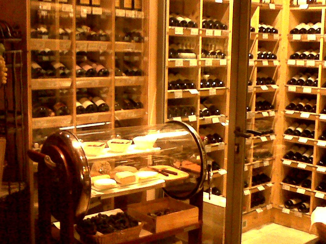 Vienna: Meinl's wine bar
