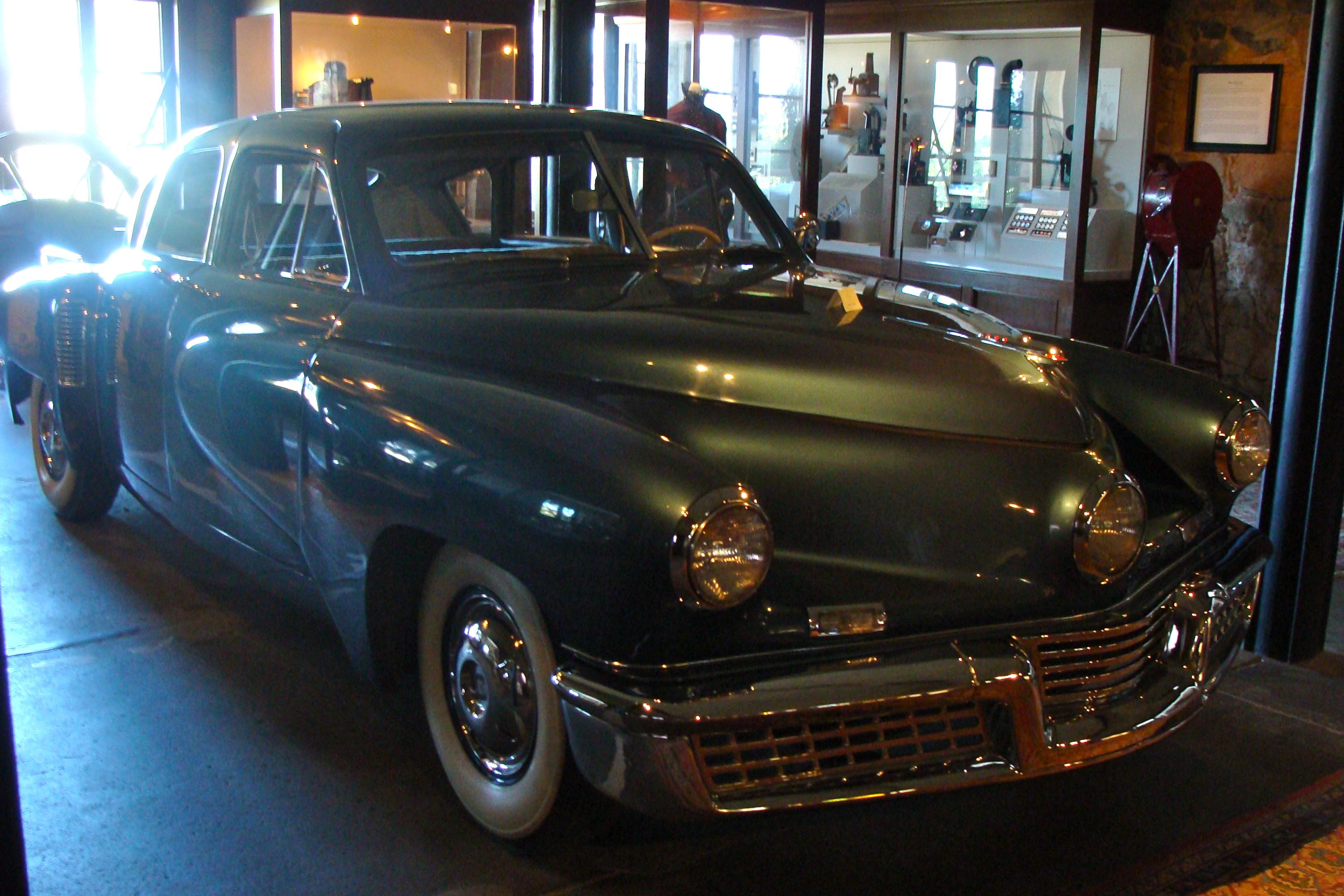 F.F. Coppola's vintage car at Rubicon Estate