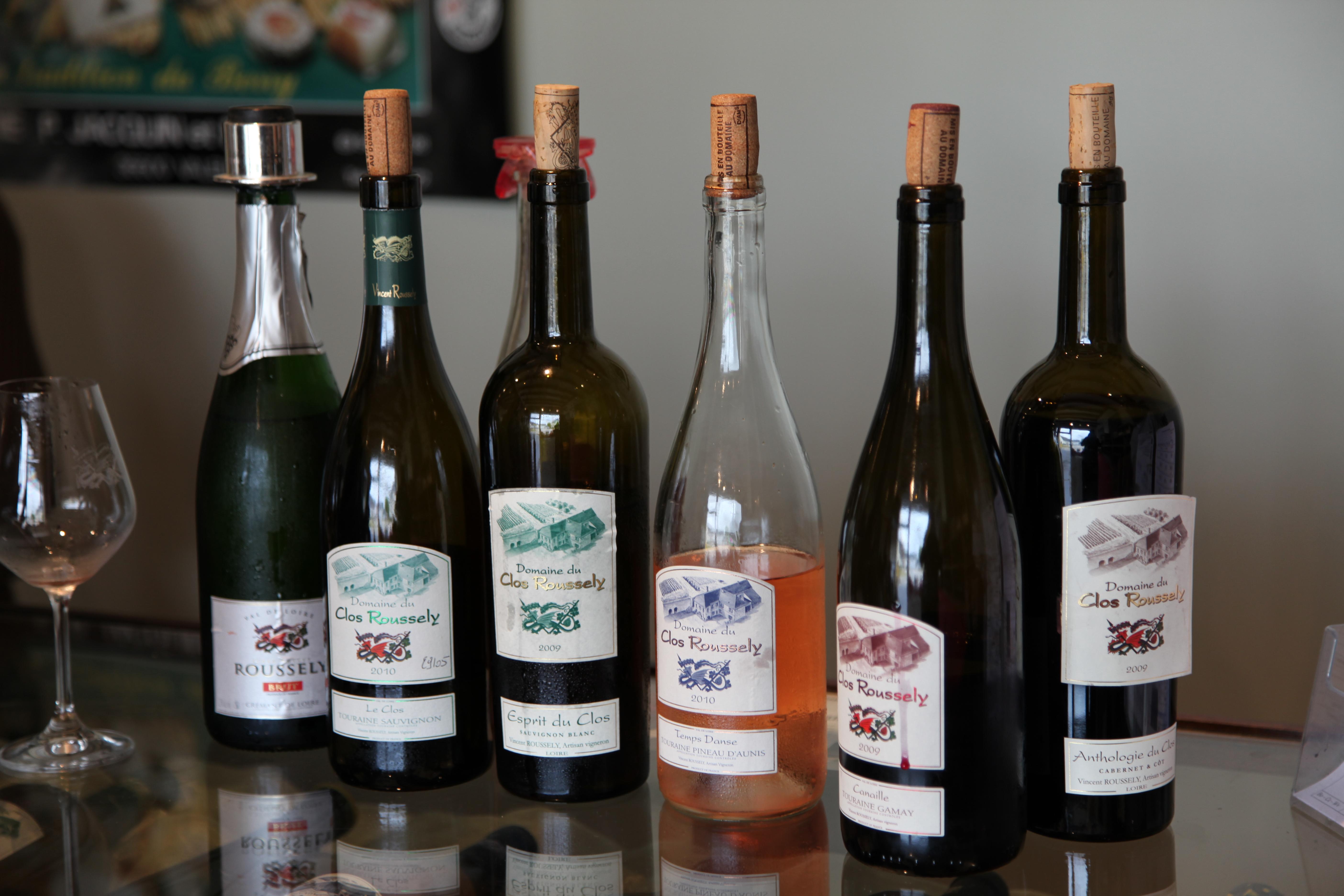 Domaine du Clos Roussely organic Loire wine