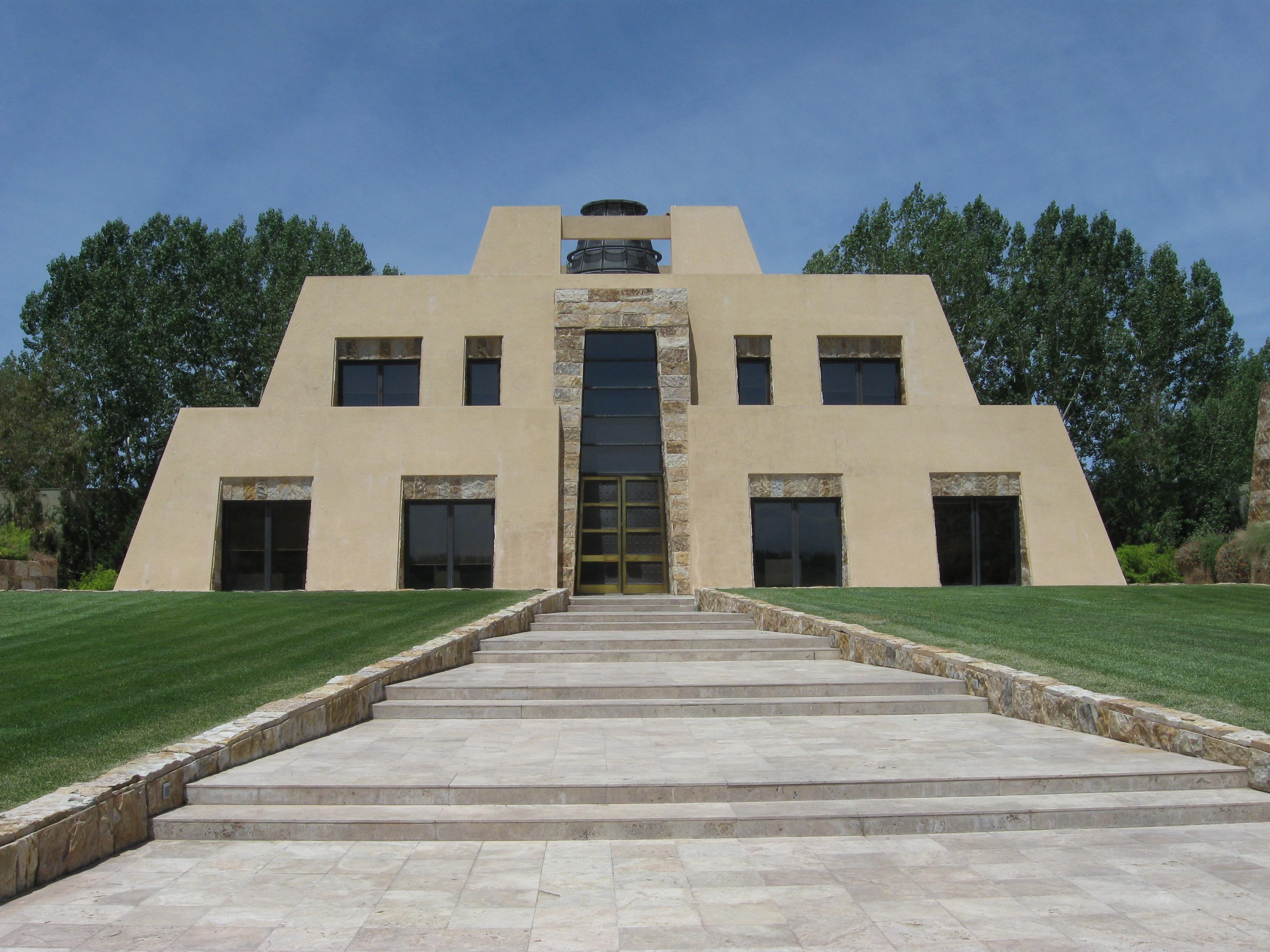 Catena's pyramid winery in Mendoza