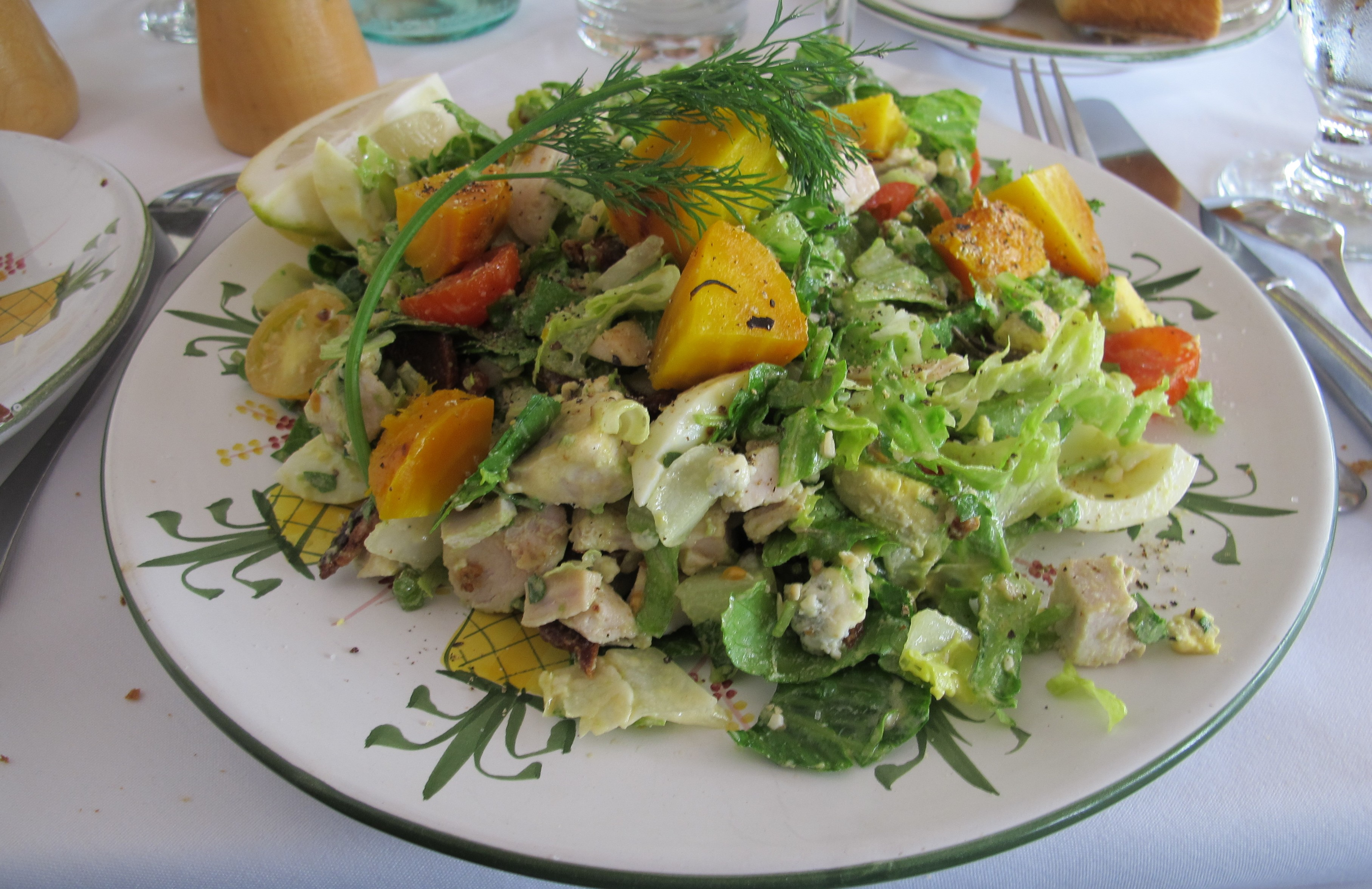 One of the delicious salads