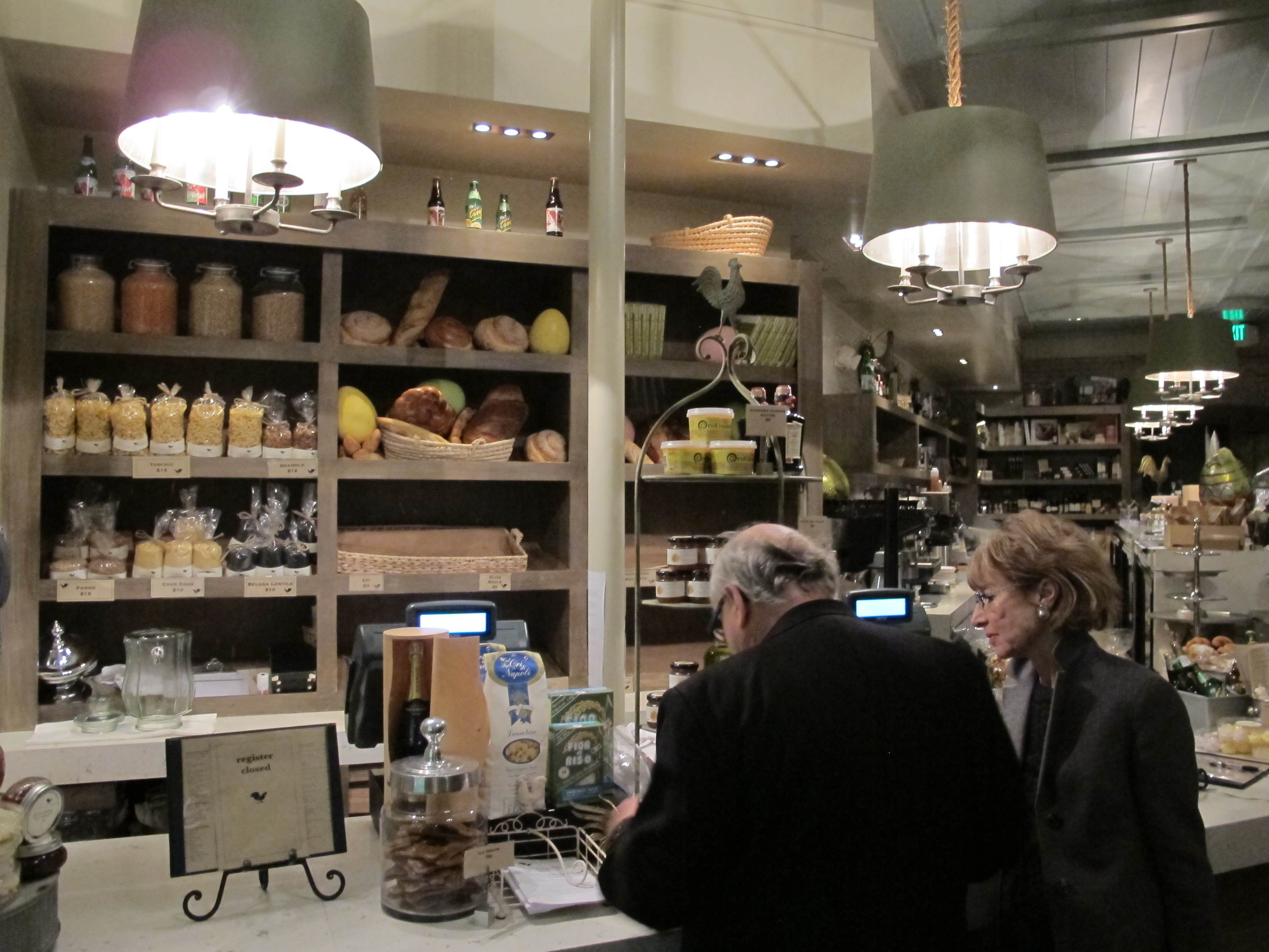 The Larder delicatessen inside Tavern in LA