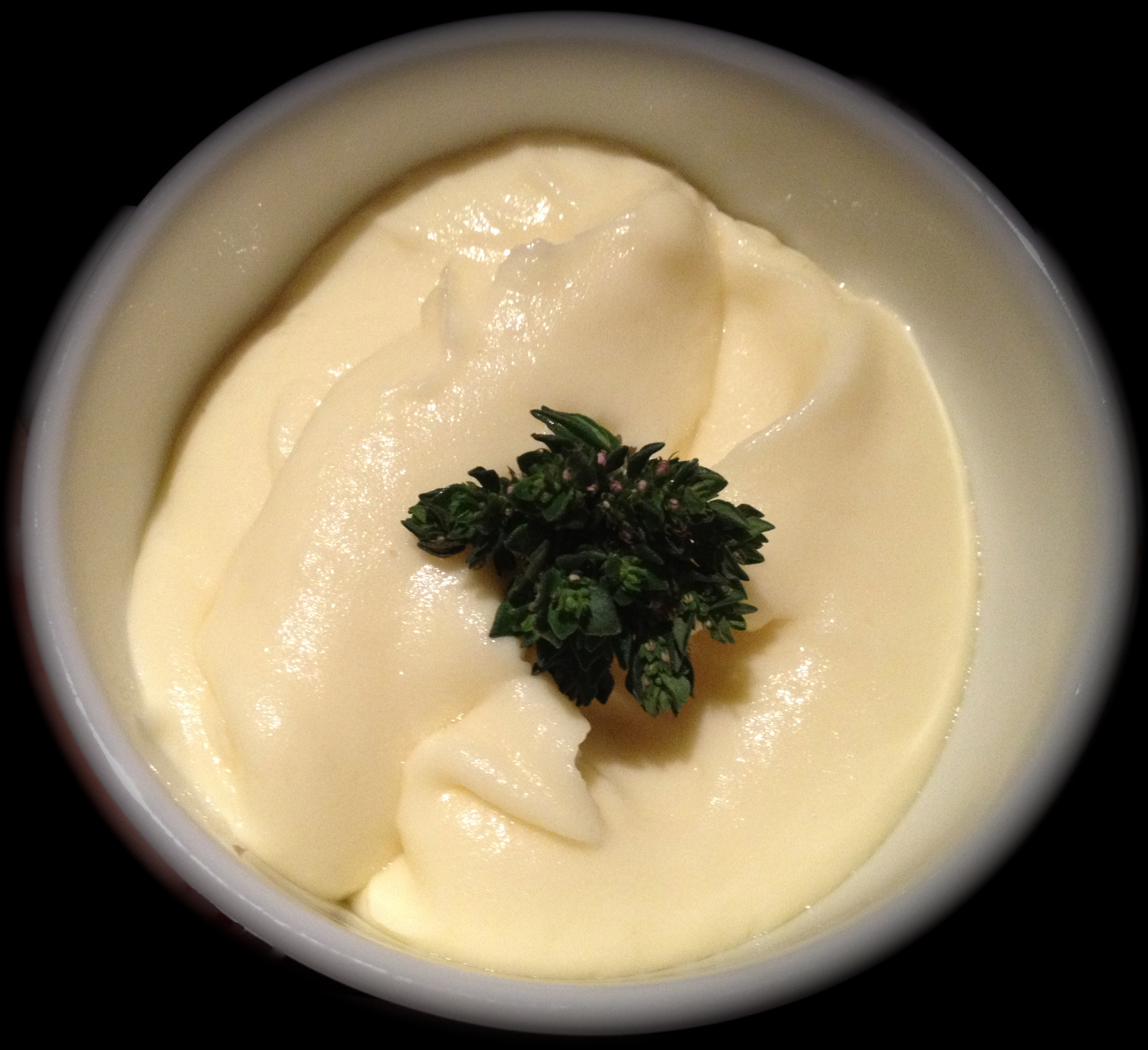 Mashed potatoes a la Joel Robuchon