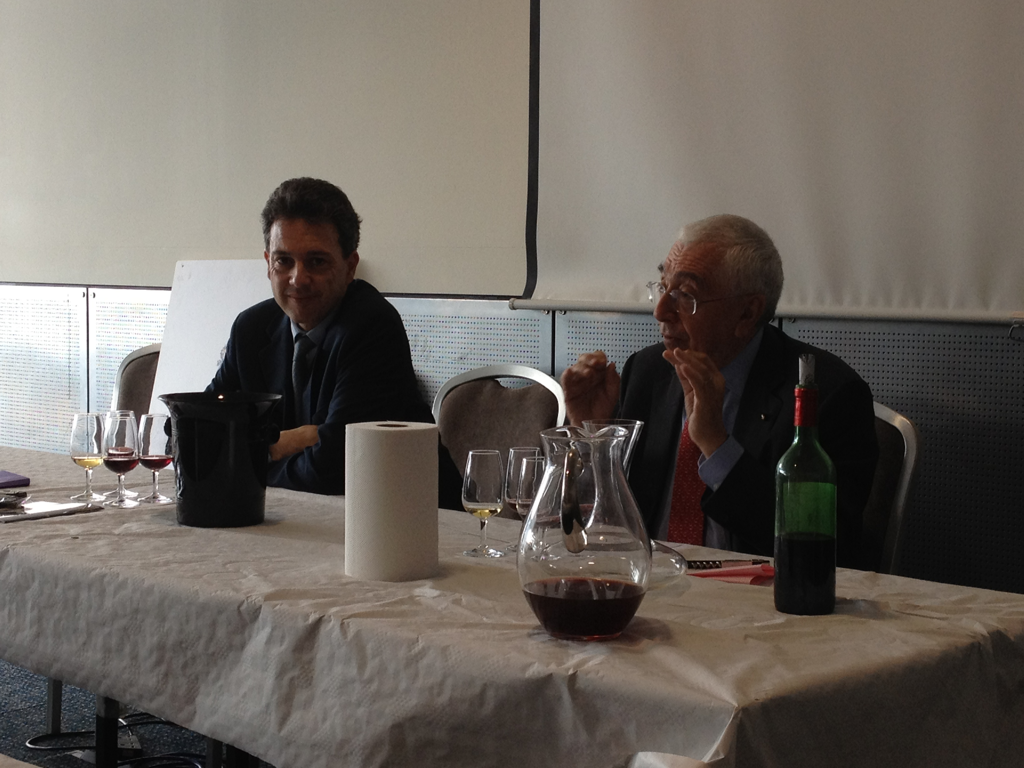 Gaston & Serge Hochar of Château Musar