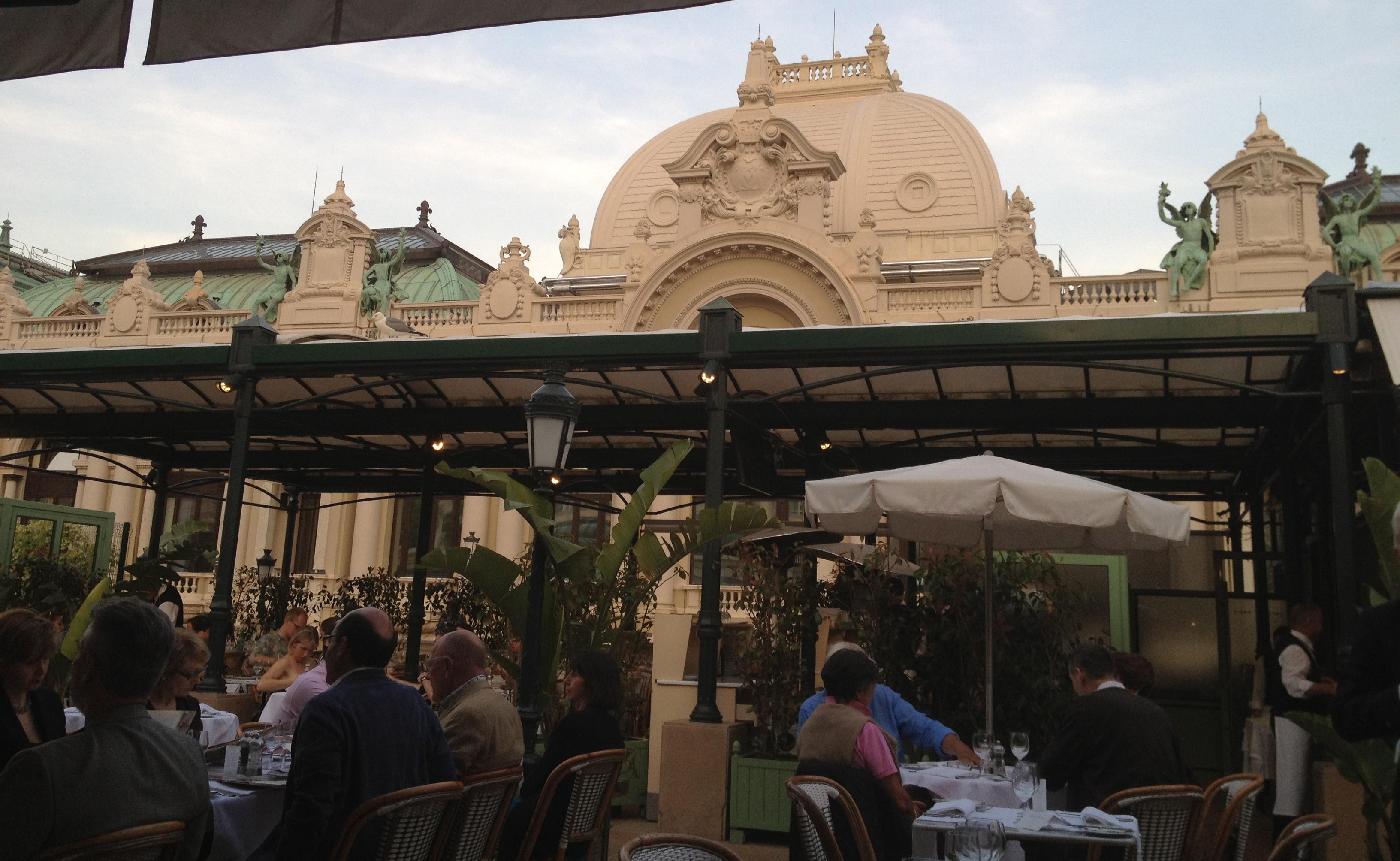Cafe de Paris in Monte Carlo