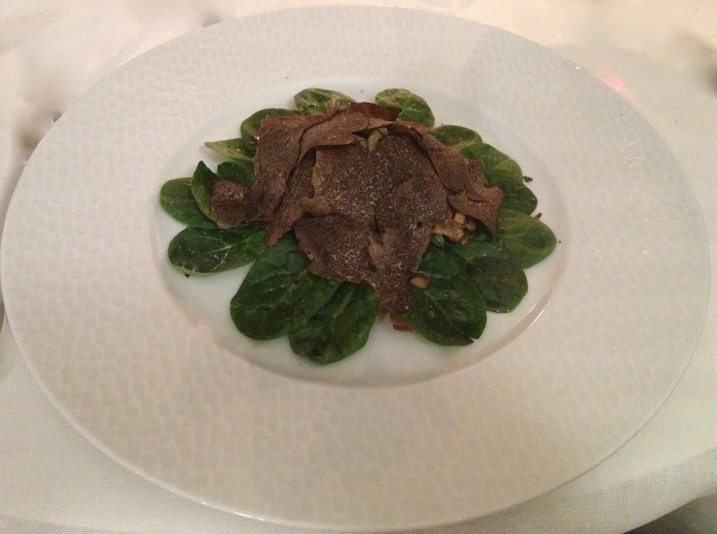 Provencal truffle salad