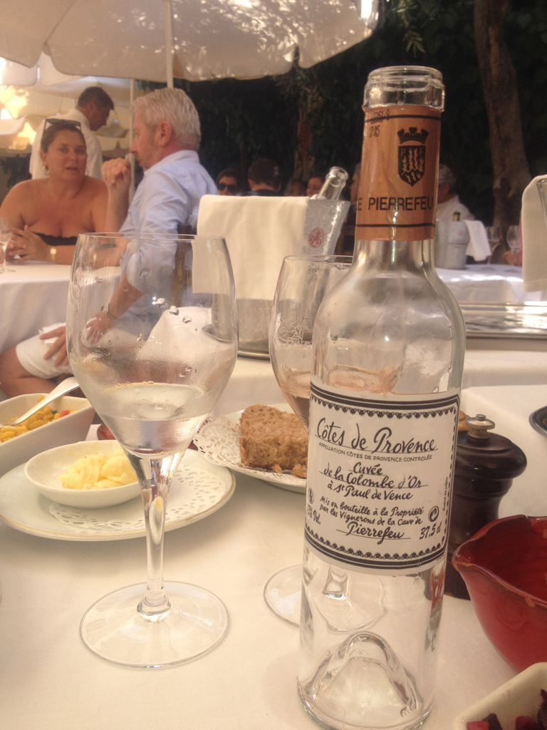 Provencal rose Selection for Colombe d'Or