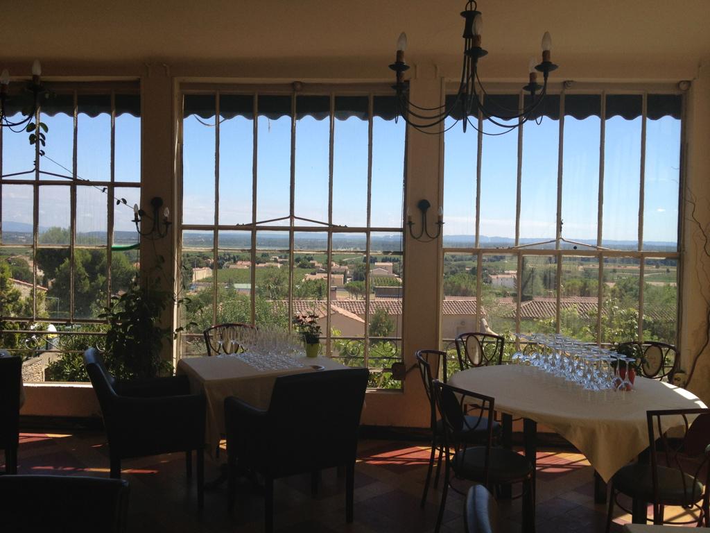 La Mère Germaine restaurant view