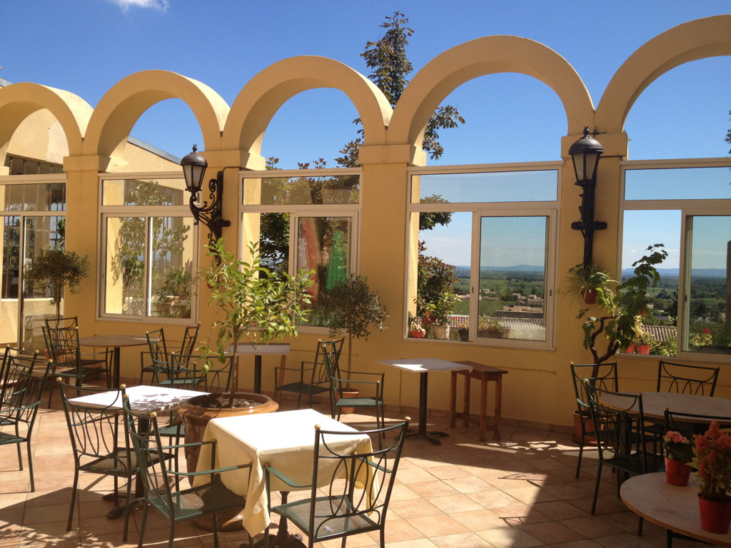 Terrace at La Mère Germaine