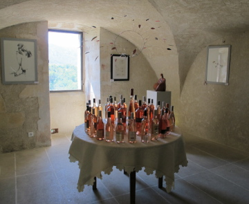 Luberon's rose wines