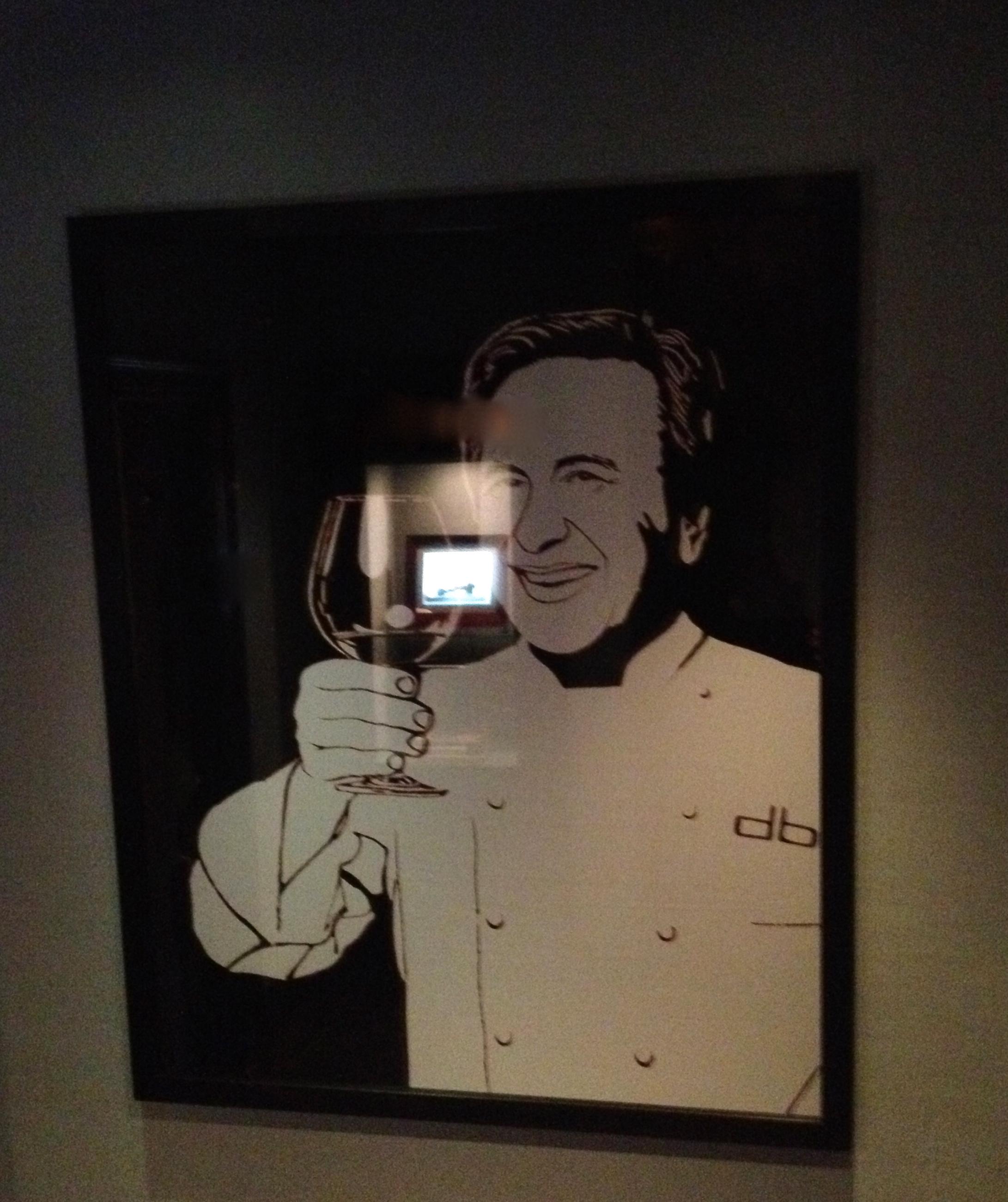 The chef Daniel Bolud