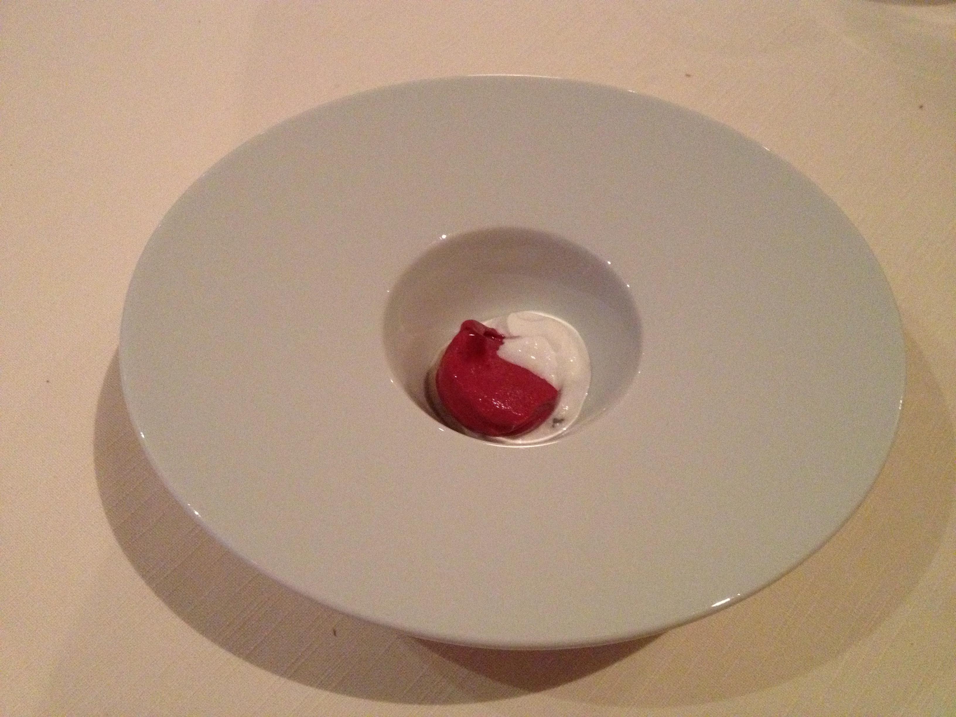 Chef's pre-dessert