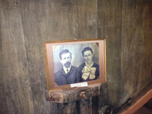 Don Lorenzo Irurtia and his wife