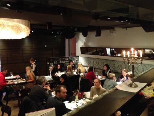 Hiltl main dining room