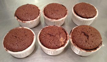 chocolate baking soufle