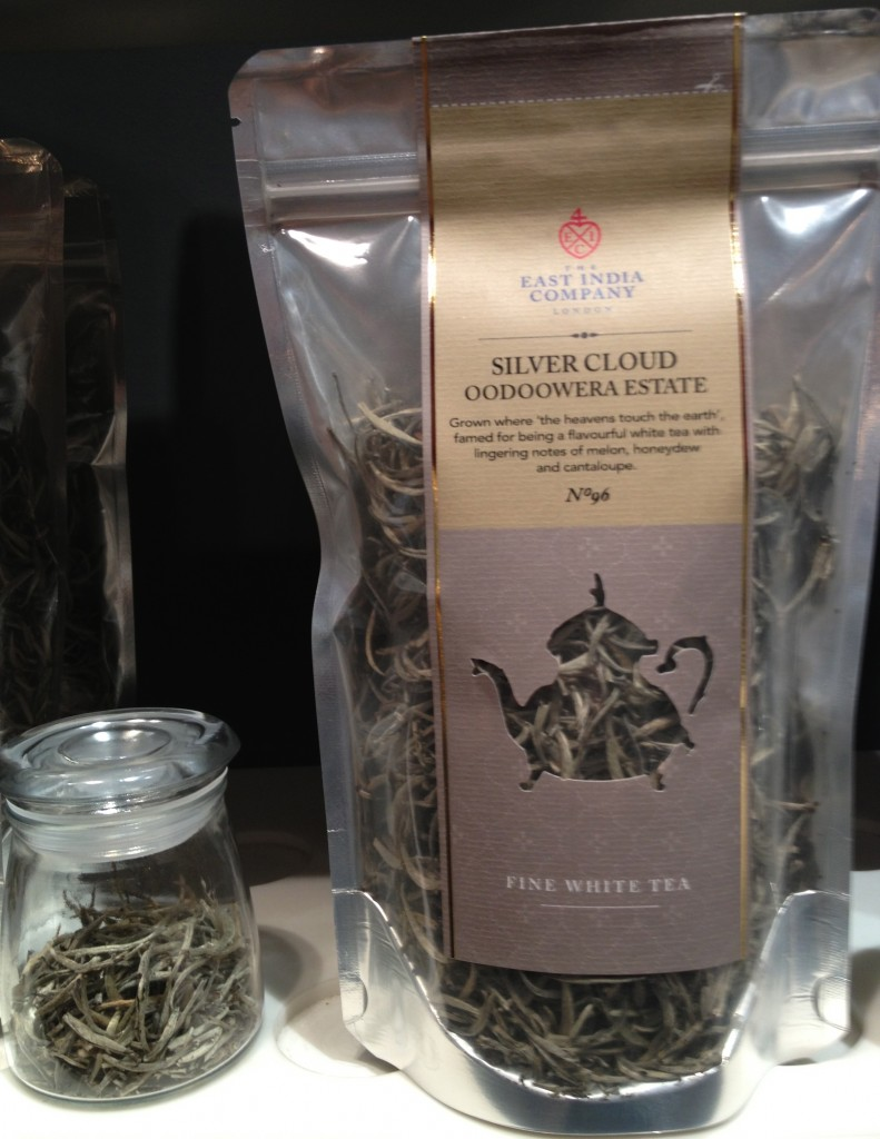 Silver Cloud: no 96 white tea from Oodoowera Estate in Ceylon