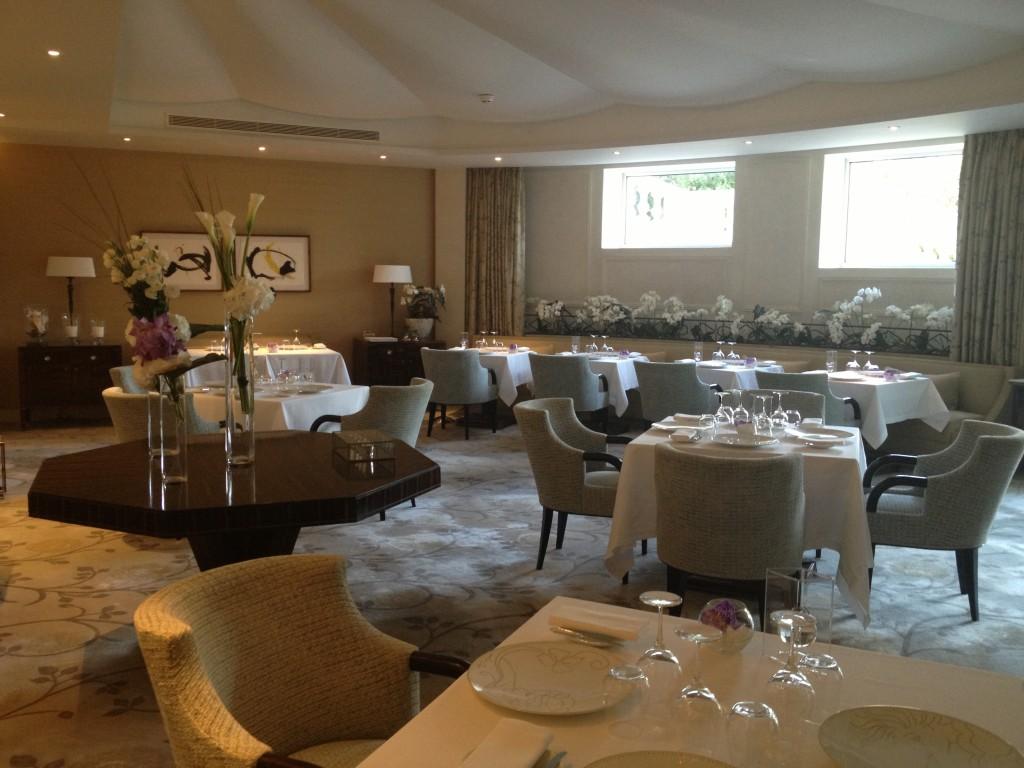 Gastronomic restaurant at Grand Hotel Cap du Ferrat