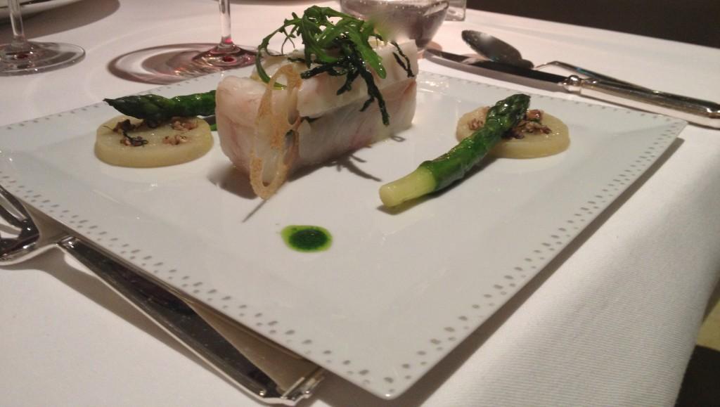 Fish at Grand Hotel du Cap Ferrat