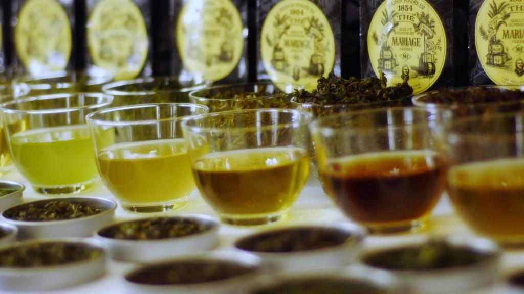 Marruage Freres tea selection