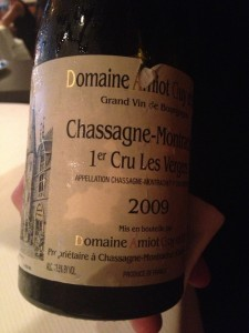 Chassagne-Montrachet by the glass