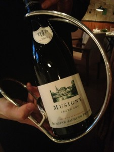 Musigny Grand Cru at Pierre Gagniare