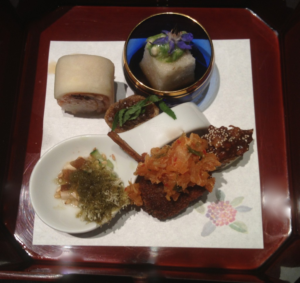 Kaiseki meal at Guilo Guilo