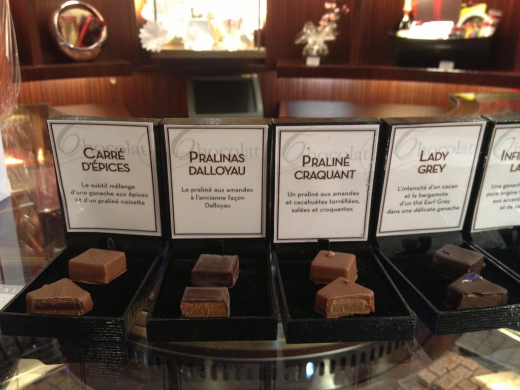 Dallolyau chocolate pralines