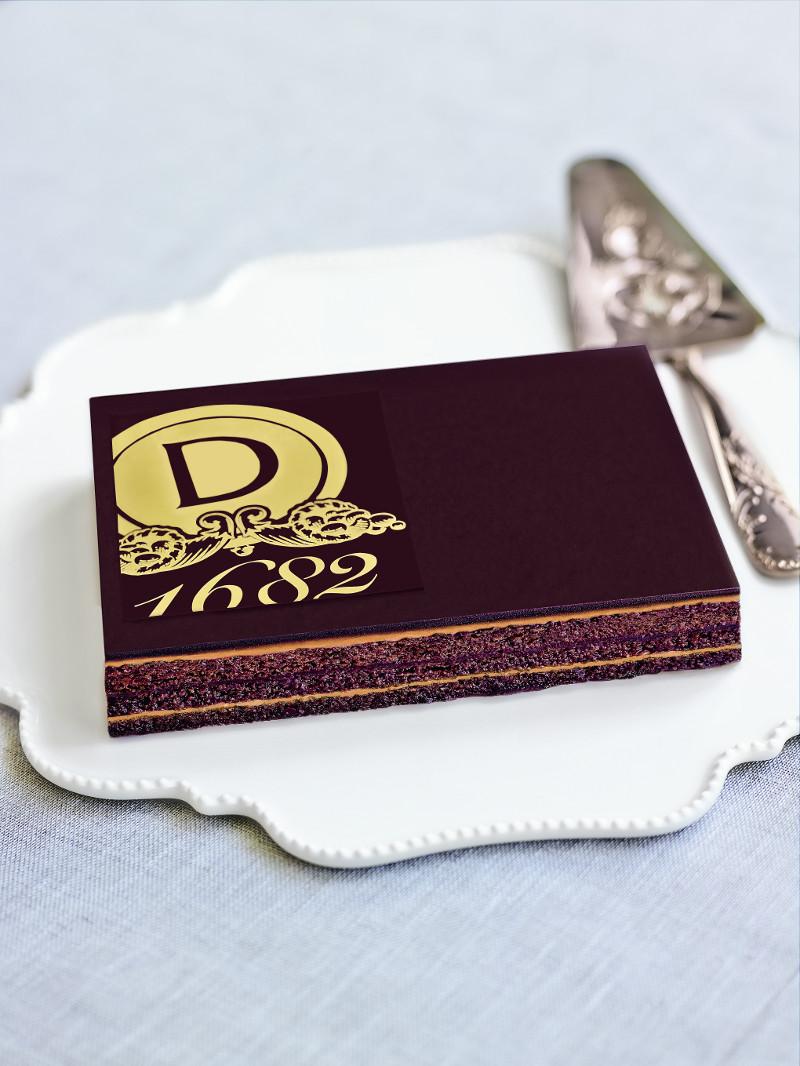 Opera cake by Dalloyau