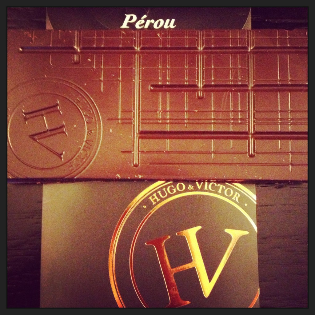 Hugo & Victor Single Origin Chocolate Peru