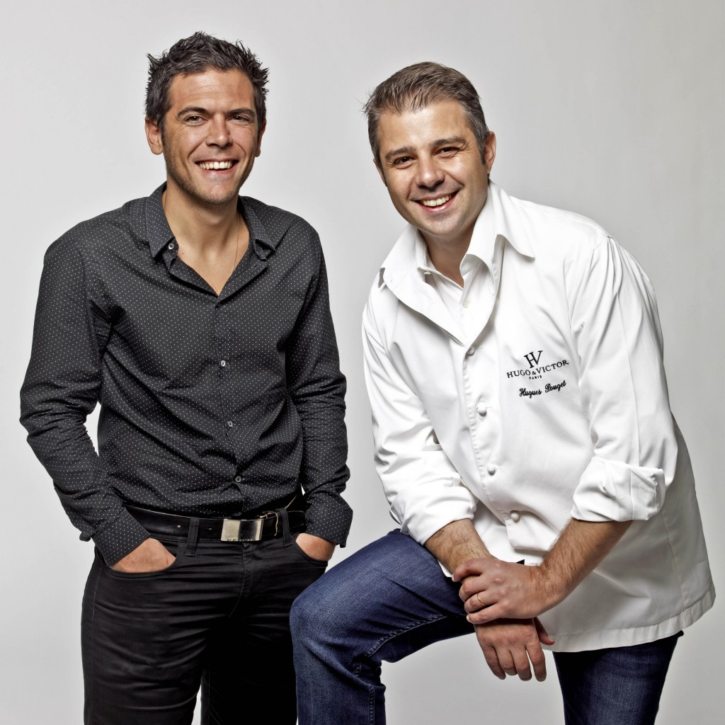 The founders of Hugo & Victor: Hugues Pouget and Sylvain Blanc