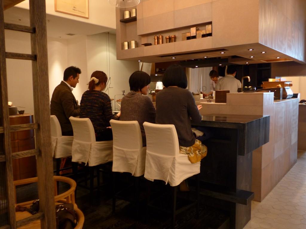 Higashiya Ginza tea bar