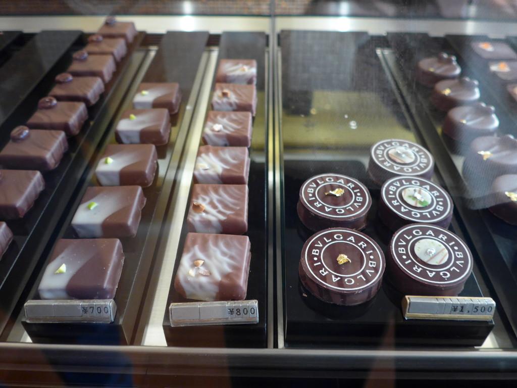 Bvlgari Chocolates