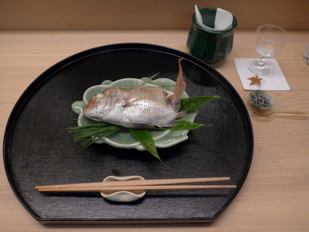 """Nemo"" served at Kichisen"