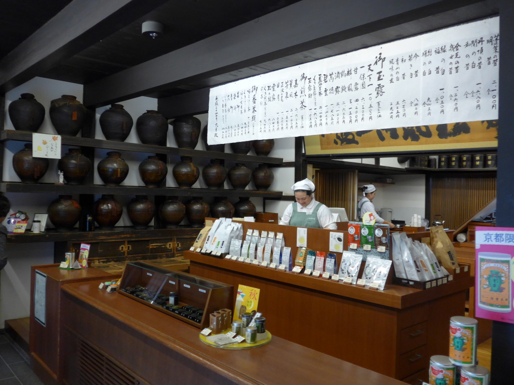 Ippodo tea counter