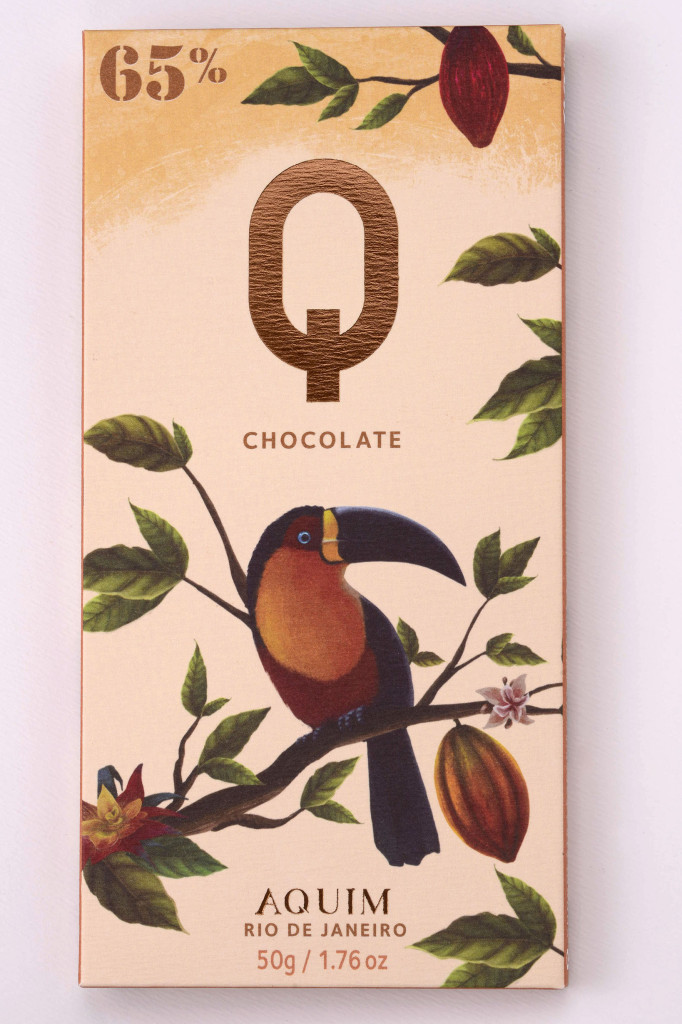 Aquim Chocolate bar Q Brazilian natural design