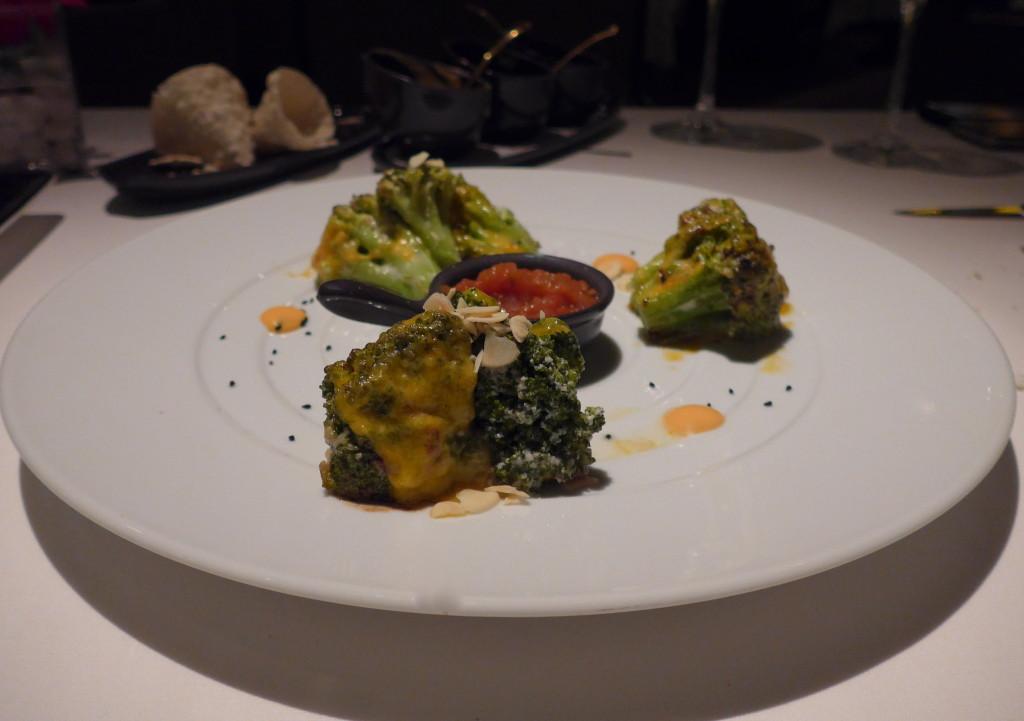 Indian Vegetarian brocoli dish