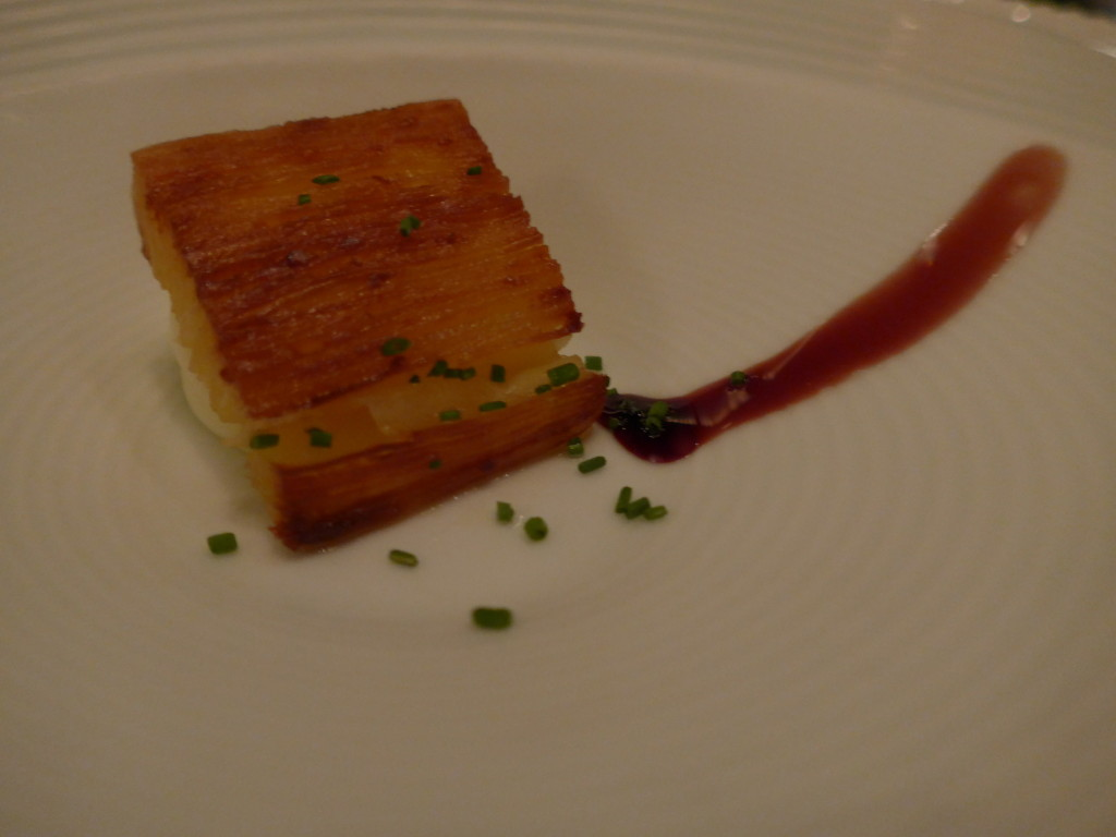 Brazilian Catupiry cheese with fried manioc at DOM