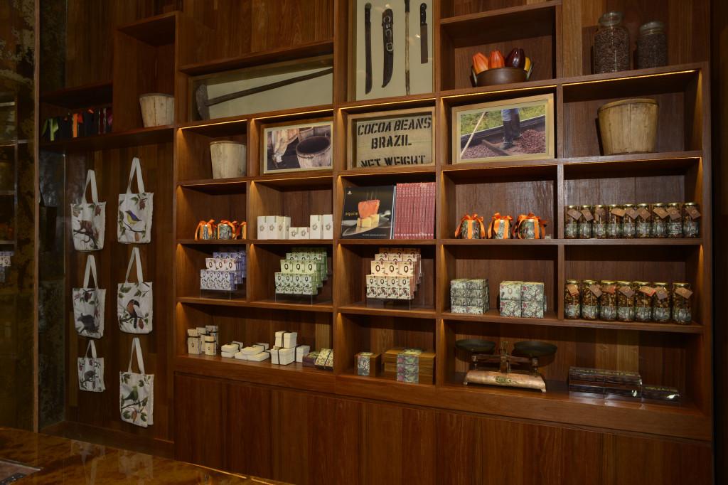 Aquim chocolate store Rio