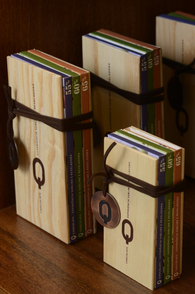 Q chocolates gift packaging