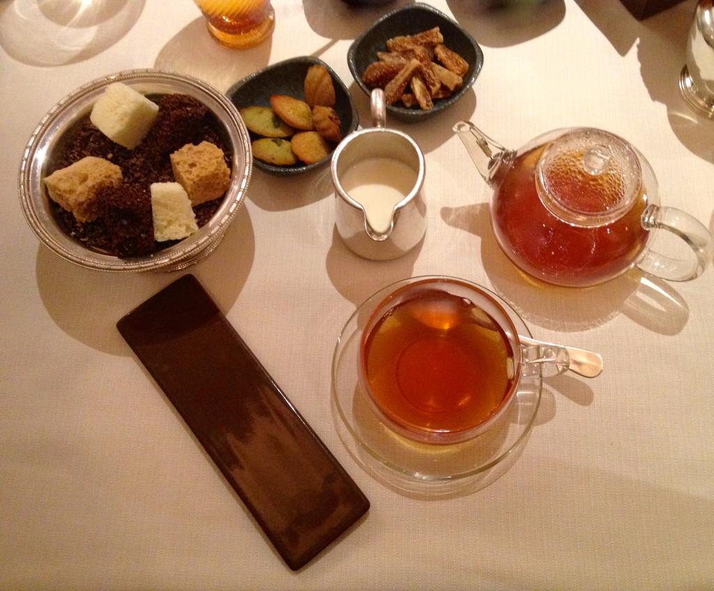 Tea time at Hibiscus
