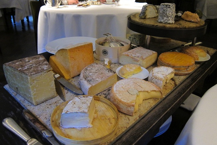 Greenhouse cheese board