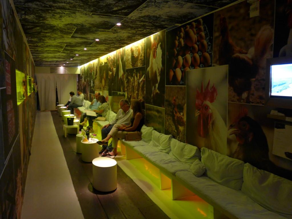 Maní entrance lounge