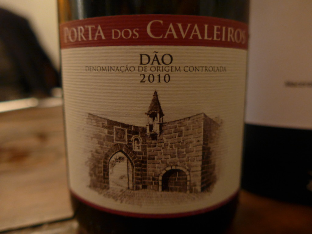 Red portuguese wine from Dao