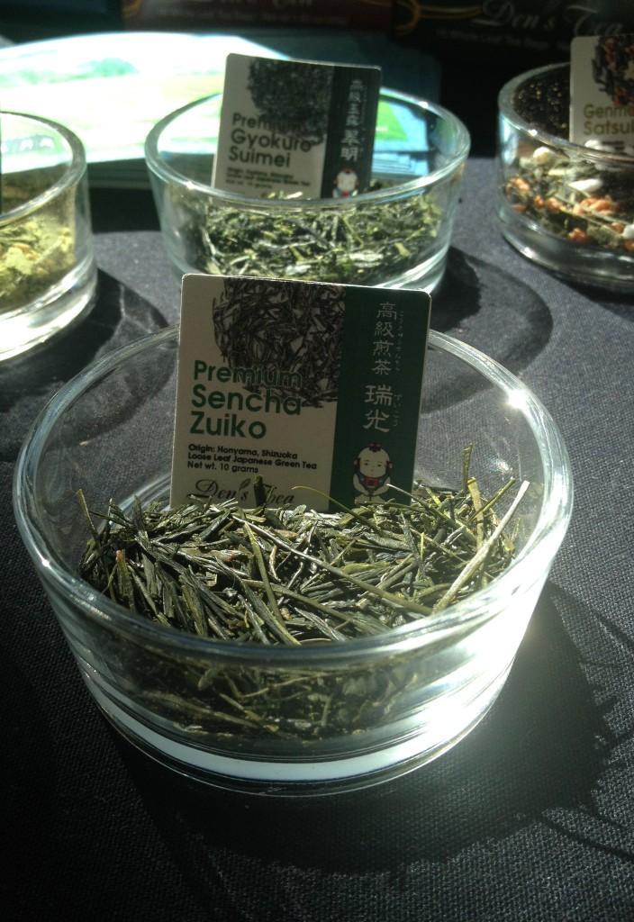 Japanese sencha tea