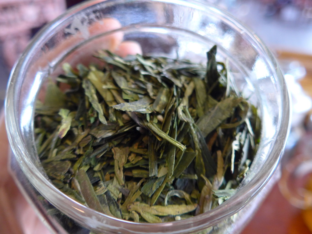 Dragon Well - Longjing green tea