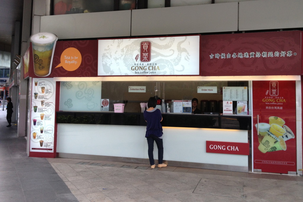 Gong Cha Singapore branch