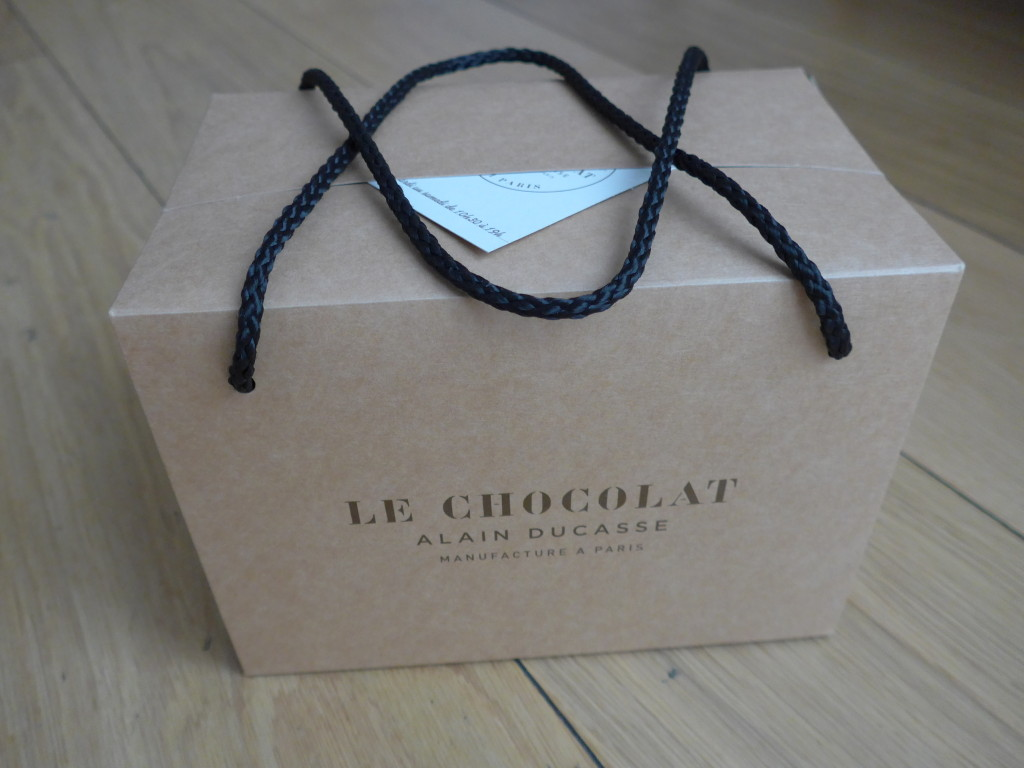 Alain Ducasse chocolate box
