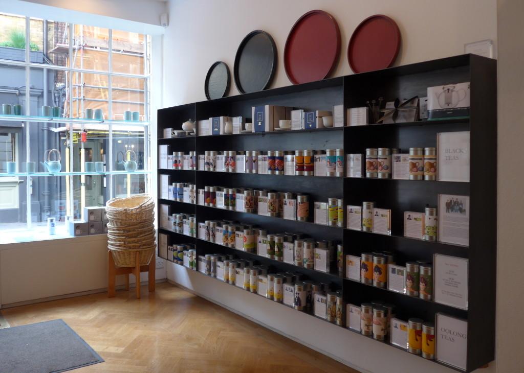 Postcard Teas shop in London