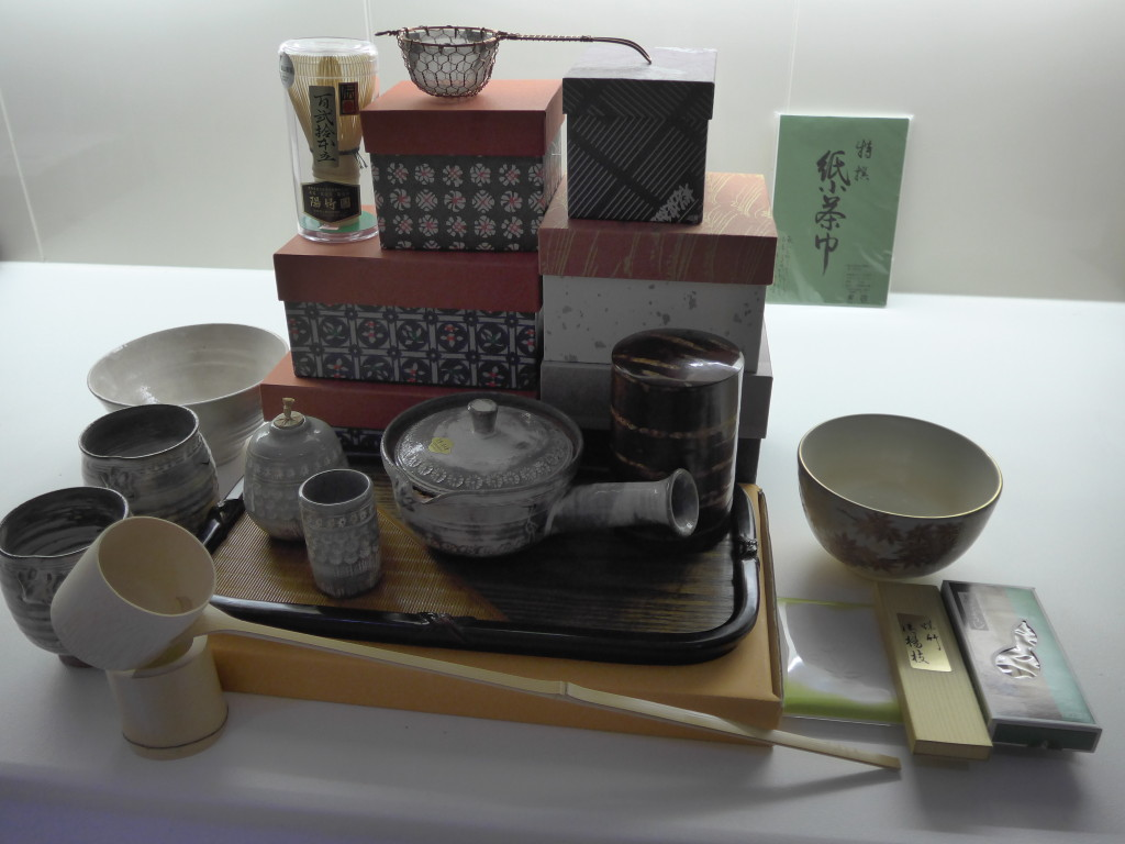Japanese tea utensils