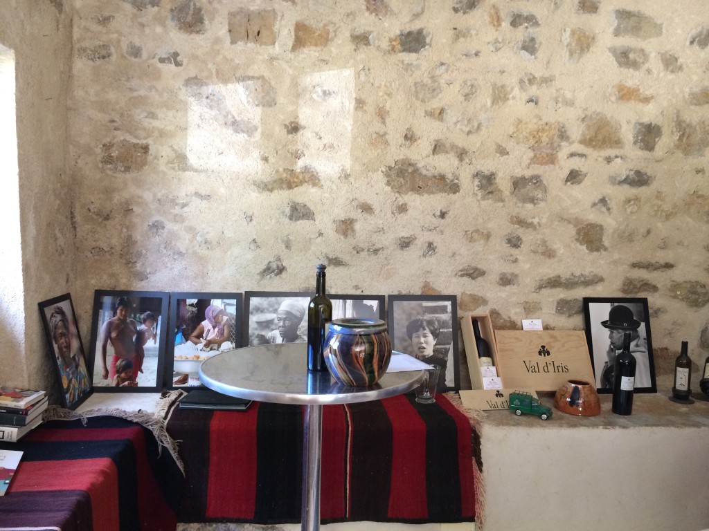 Tasting room at Val d'Iris